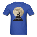 Wolf Strong T-Shirt - royal blue