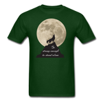 Wolf Strong T-Shirt - forest green