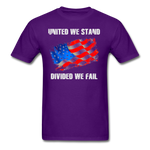 United We Stand T-Shirt - purple