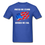 United We Stand T-Shirt - royal blue