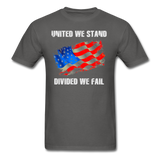 United We Stand T-Shirt - charcoal