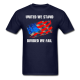 United We Stand T-Shirt - navy