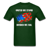 United We Stand T-Shirt - forest green