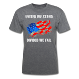 United We Stand T-Shirt - mineral charcoal gray
