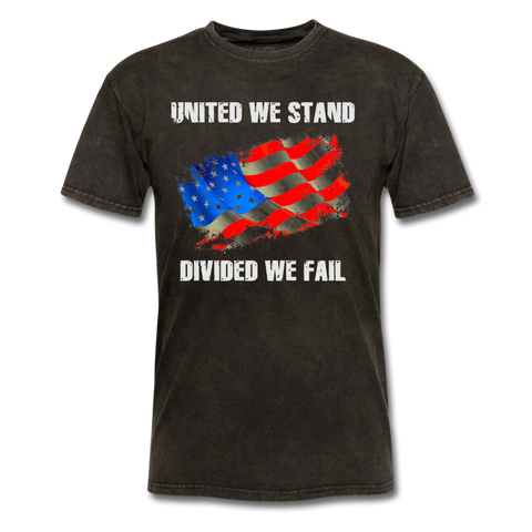 United We Stand T-Shirt - mineral black