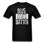 Blue Lives Matter T-Shirt - black