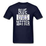 Blue Lives Matter T-Shirt - navy