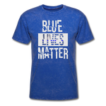 Blue Lives Matter T-Shirt - mineral royal