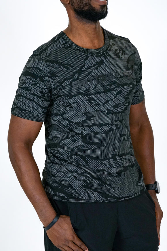 Lulu Lemon Camo Metal Vent Tech Short Sleeve 2.0