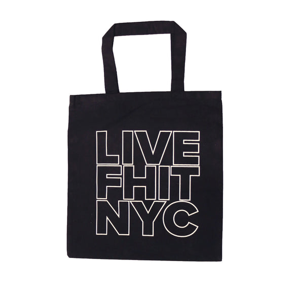 LIVEFHIT NYC Tote Bag