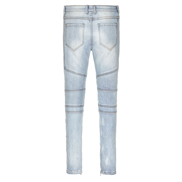 BIKER - STONEWASHED BLUE