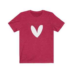 Have A Heart Adult Tee (White Heart)