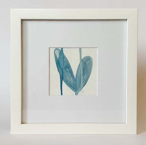 Framed Heart Painting