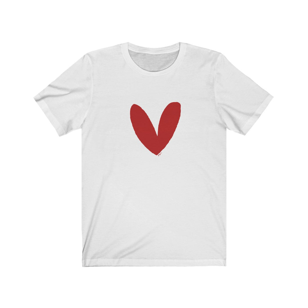 Have A Heart Adult Tee (Red Heart)
