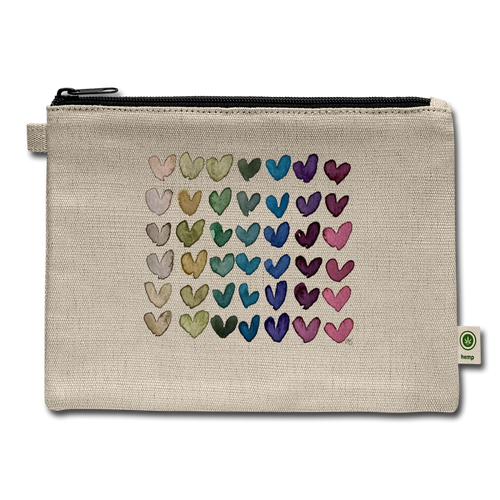 Carry All Love Pouch - natural