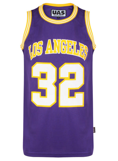 Mens UrbanAllStars Los Angels 32 Basketball Jersey