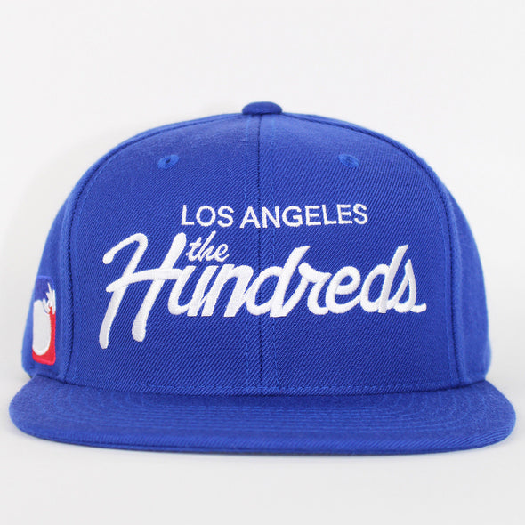 The Hundreds Forever Team Snapback Blue
