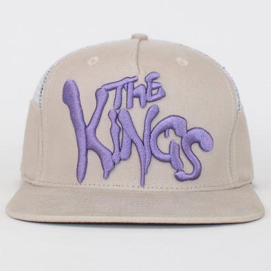 King Apparel Snapback Warriors Trucker Flat Cap