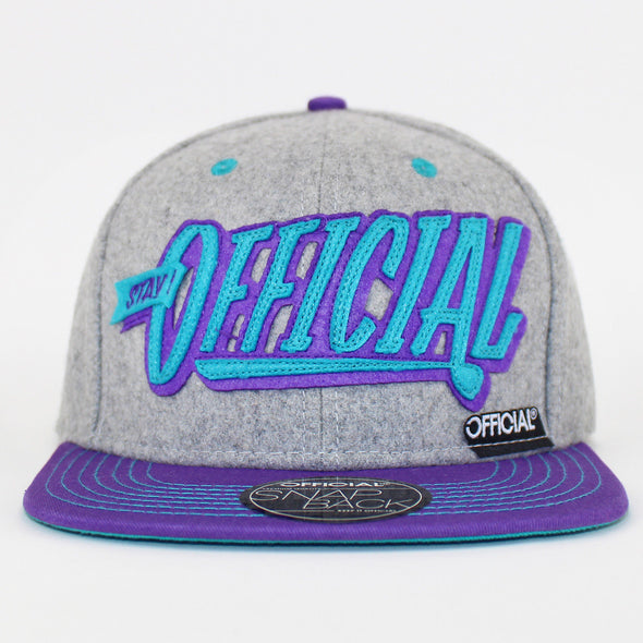 Official Snapback Cap Stay Official Patch Logo Hat Skate Flat Cap