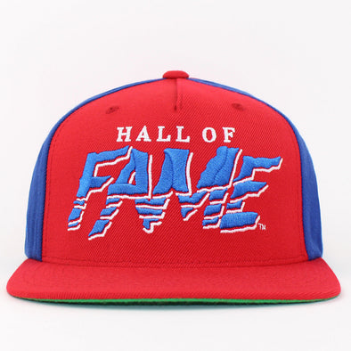 Hall Of Fame Snapback Embroidered Tear Baseball Cap