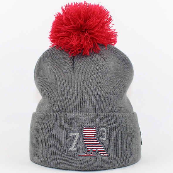Mens Starter Bobble Hat