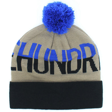 The Hundreds Tone Pom Pom Beanie Hat