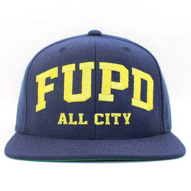FUPD All City Snapbacks Navy