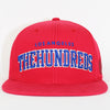 The Hundreds Huge Player Snapback Red
