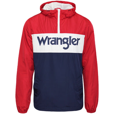 Mens Wrangler Paul Pop Windbreaker