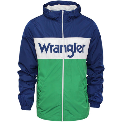 Mens Wrangler Wally Windbreaker Jacket