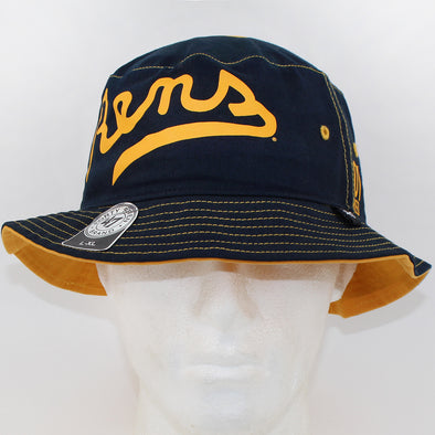 47 Brand Rens Basketball Navy/Yellow Bucket Hat