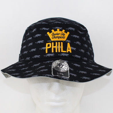 47 Brand Rens Basketball Black/Grey Bucket Hat