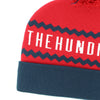 The Hundreds Ziggy Beanie Pom Pom Red Hat