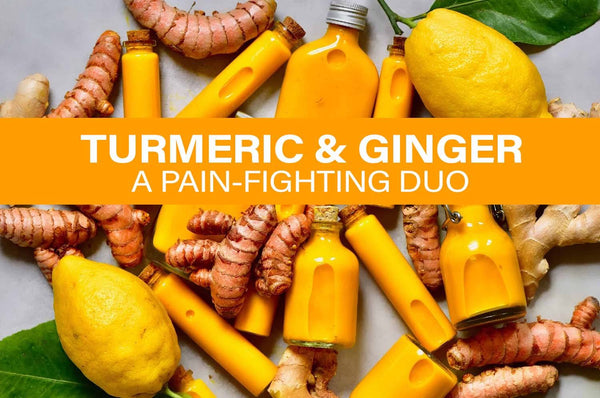 GINGER & TURMERIC: A POWERFUL NATURAL PAIN-FIGHTING COMBINATION! - Herbal  Code Labs Nutrition