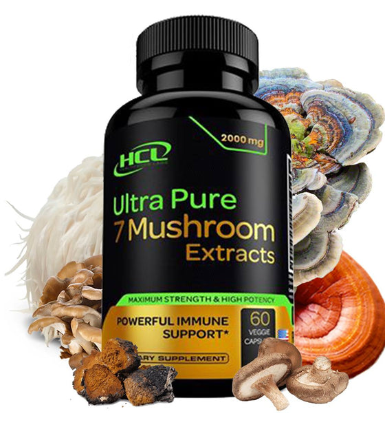 Organic Mushroom Supplement