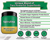Organic Spirulina Powder with Mushrooms Extract