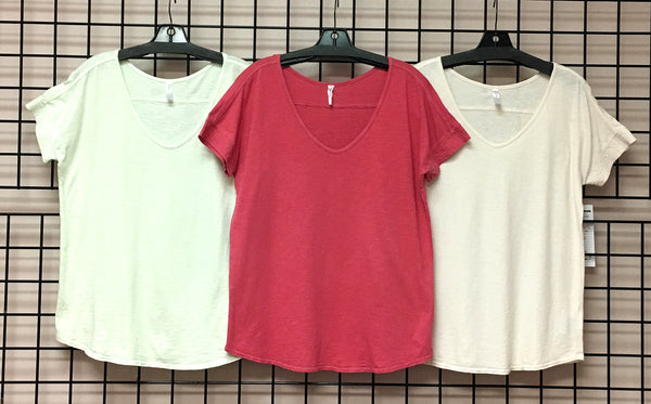 Ladies Slub Knit Lounge Top