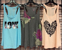 Ladies Racerback Lounge Tank