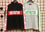 Men's - Long Sleeve - Racing Stripe Sleeves - Graphic Tee - Wholesale - Off Price