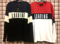 Men's - Long Sleeve - Color Block - Tee - Graphic - Wholesale - Off Price