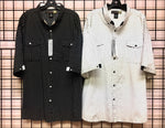 Big Men's S/S Button Down Shirt