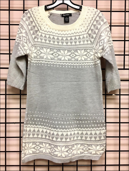 Sweater Dress - Wholesale - Off Price - Ladies - Snowflake