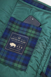 Plaid Quilted Bison Blanket