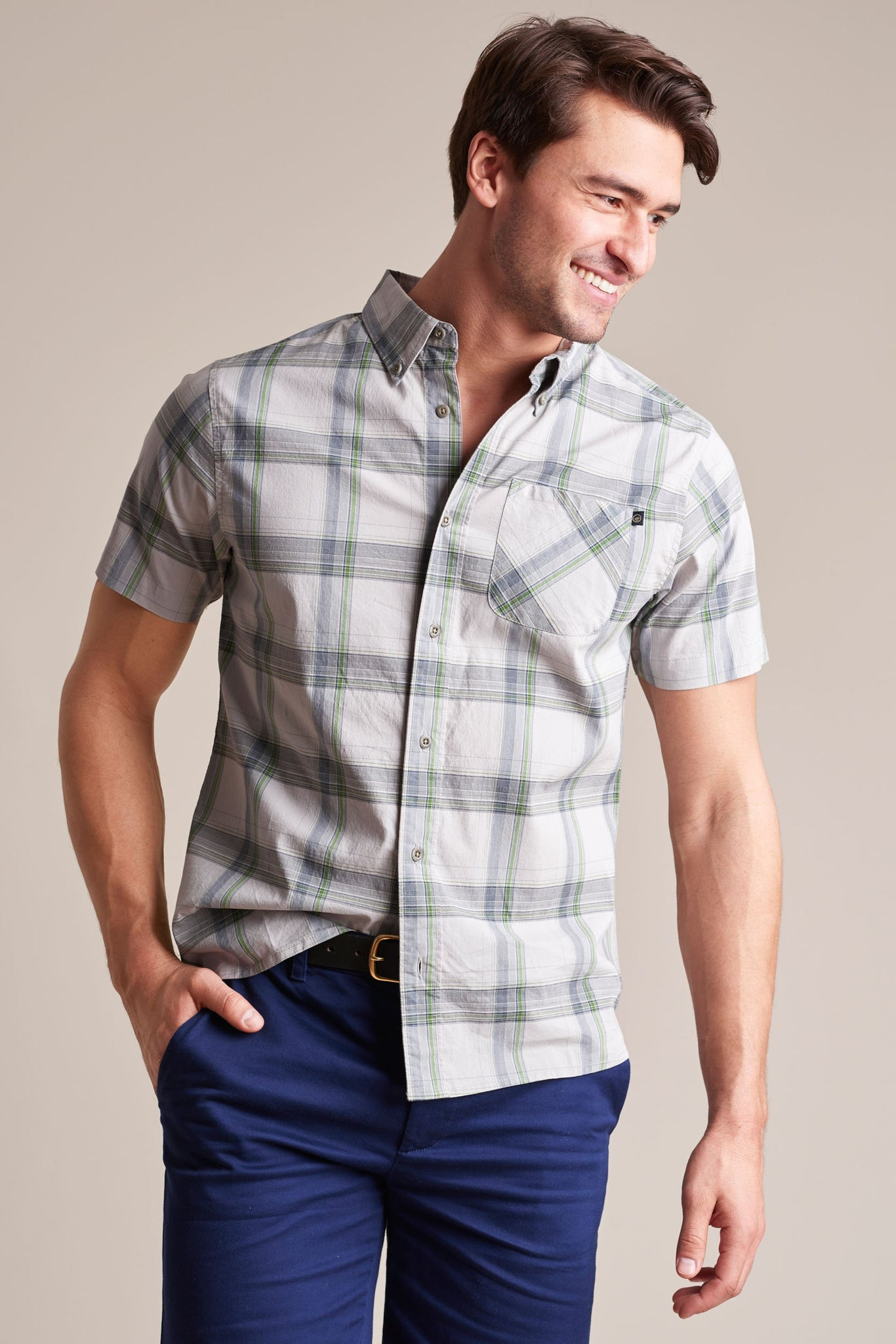 Forres Plaid Button Down