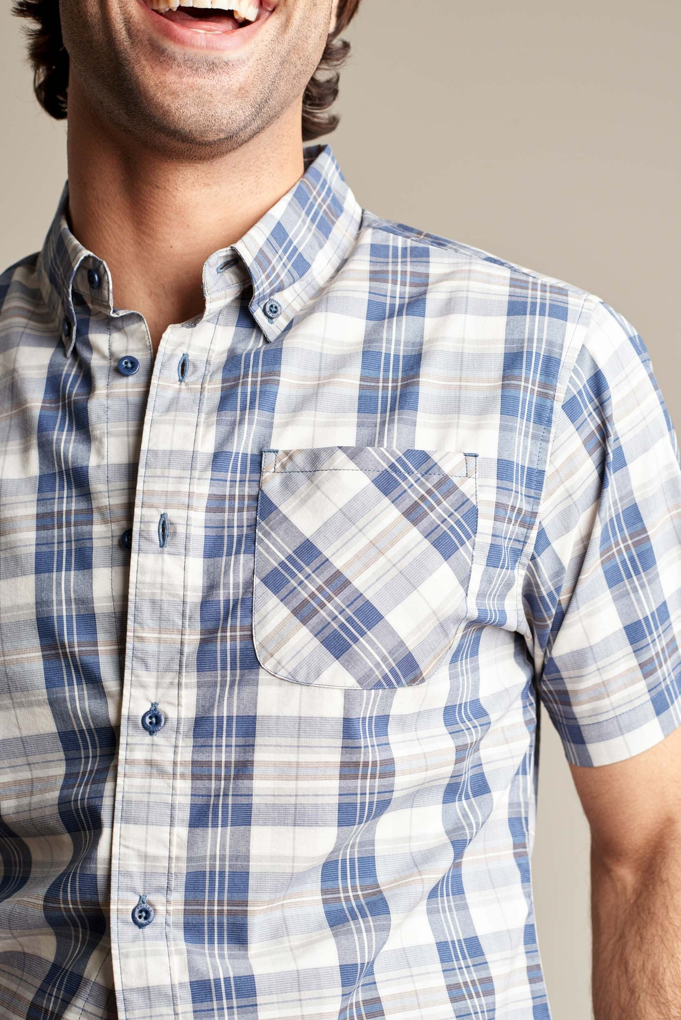 Kinghorn Plaid Button Down