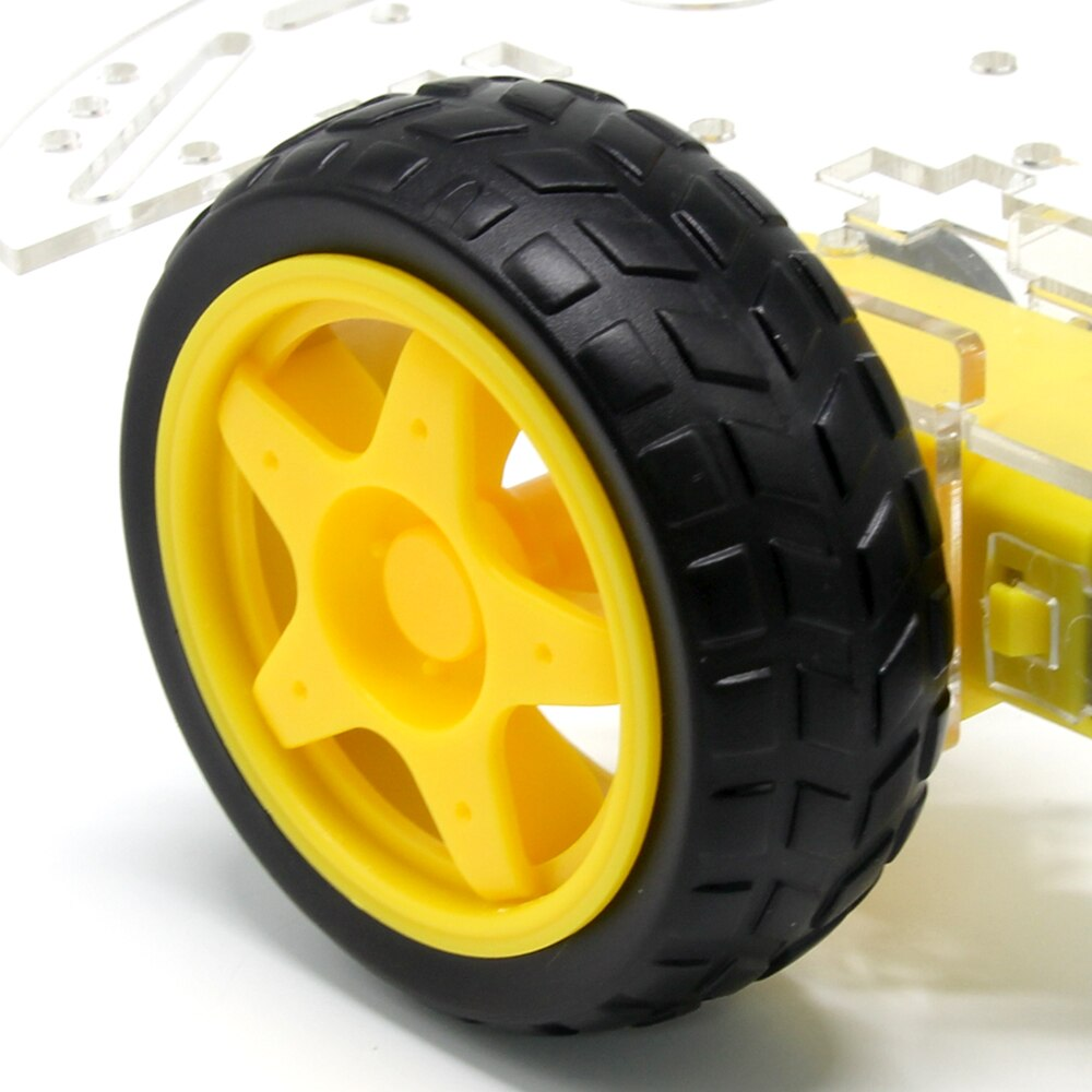 2WD Smart Robot Car Chassis Kit - cute-lava