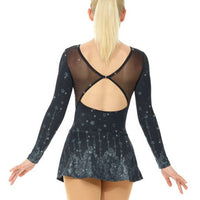 Mondor Long Sleeve Sparkle Skate Dress