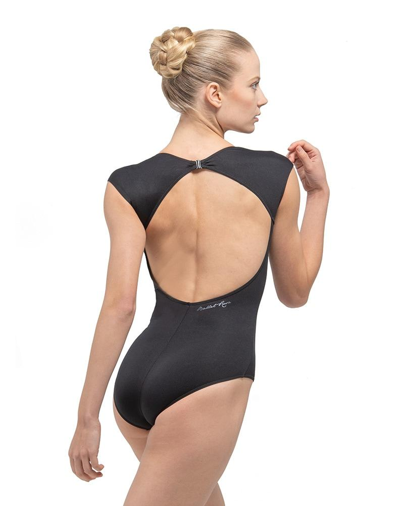 Ballet Rosa Cap Sleeve Low Back Leotard - Child's