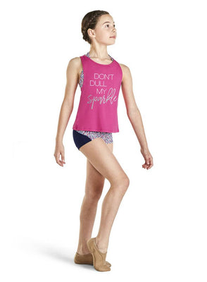 Bloch Kaia Open Back Tank