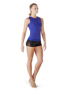 Bloch Fitted Zip Front Top